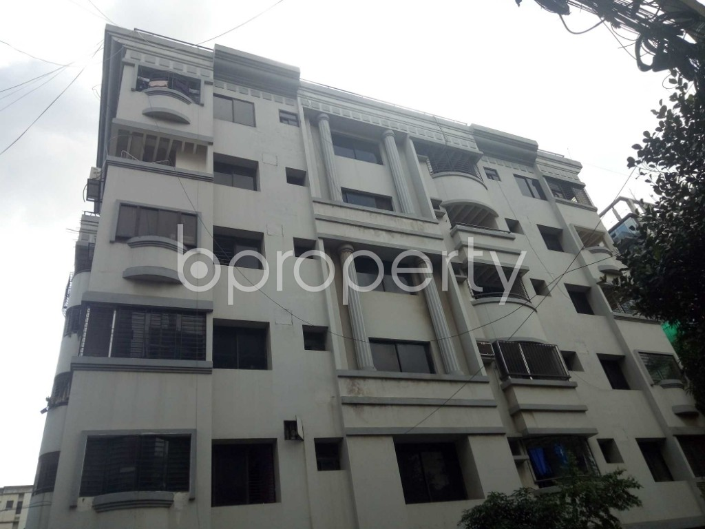 Front view - 3 Bed Apartment for Sale in Gulshan, Dhaka - 1944901