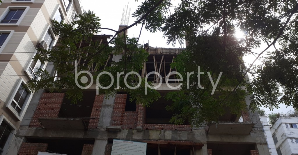 Front view - 3 Bed Apartment for Sale in Bashundhara R-A, Dhaka - 1944931