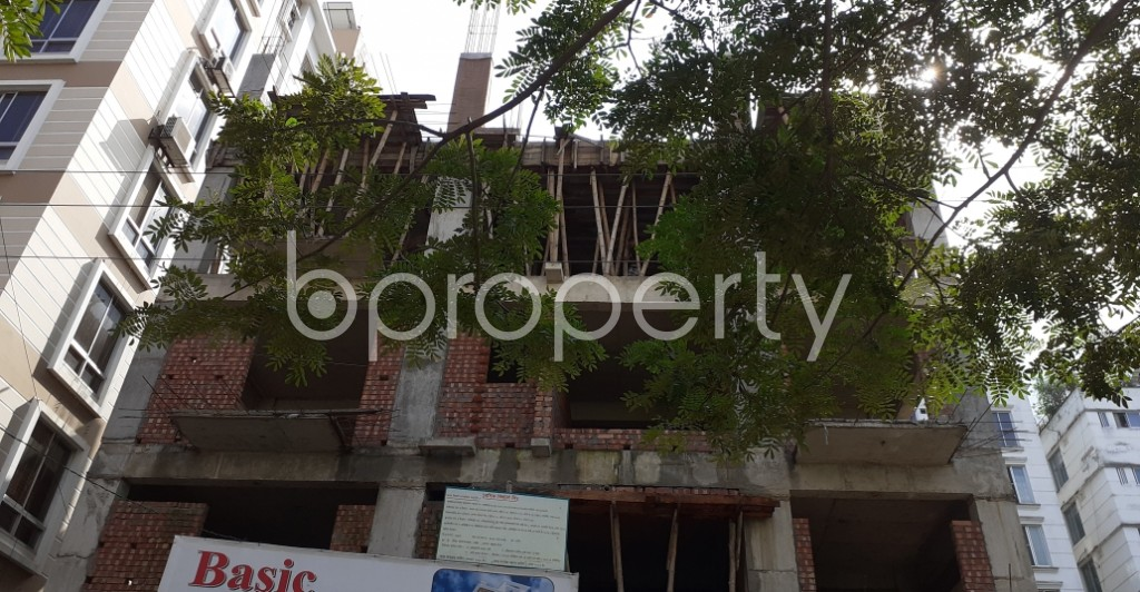 Front view - 3 Bed Apartment for Sale in Bashundhara R-A, Dhaka - 1944932