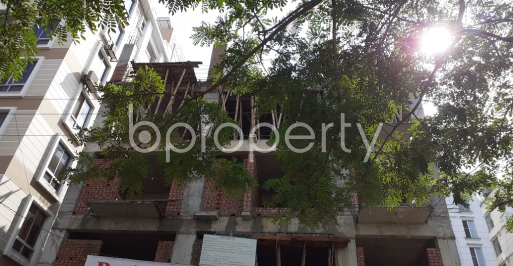 Front view - 3 Bed Apartment for Sale in Bashundhara R-A, Dhaka - 1944933