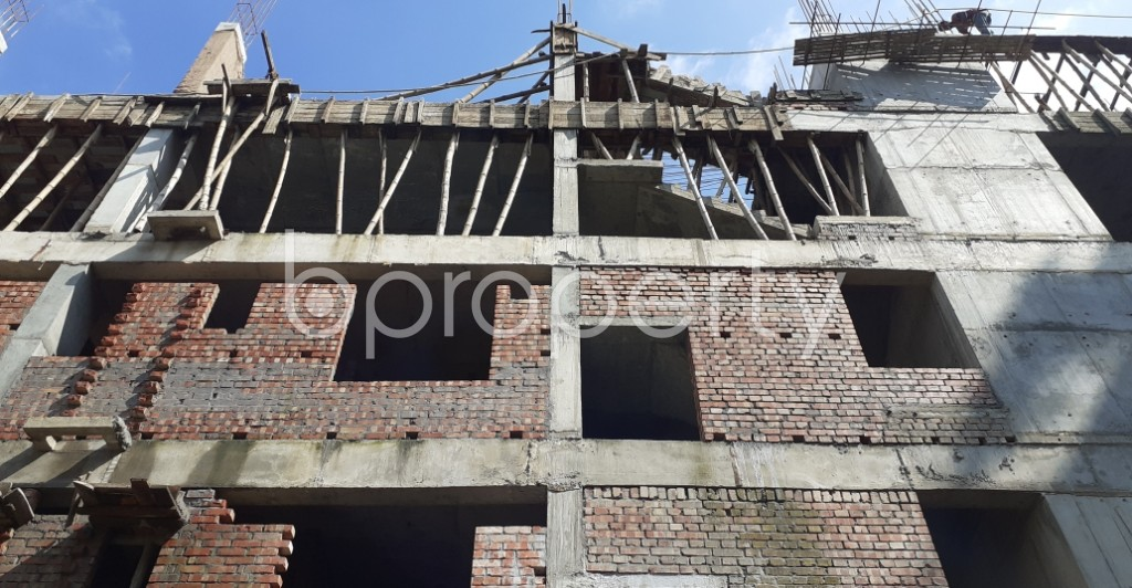 Front view - 3 Bed Apartment for Sale in Bashundhara R-A, Dhaka - 1944934