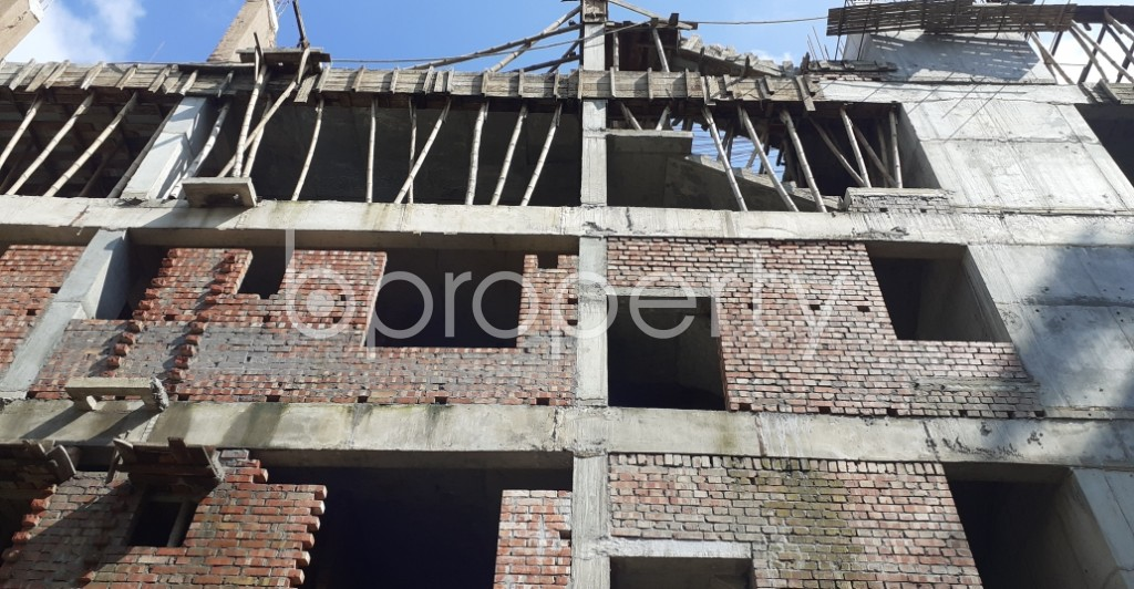Front view - 3 Bed Apartment for Sale in Bashundhara R-A, Dhaka - 1944935