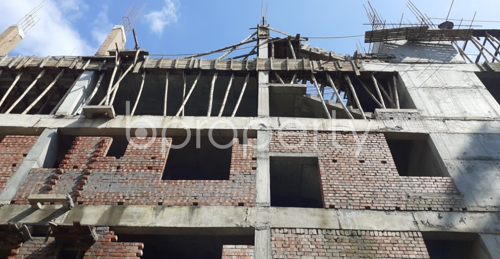 Front view - 3 Bed Apartment for Sale in Bashundhara R-A, Dhaka - 1944936