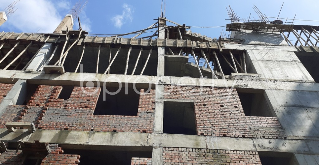 Front view - 3 Bed Apartment for Sale in Bashundhara R-A, Dhaka - 1944937