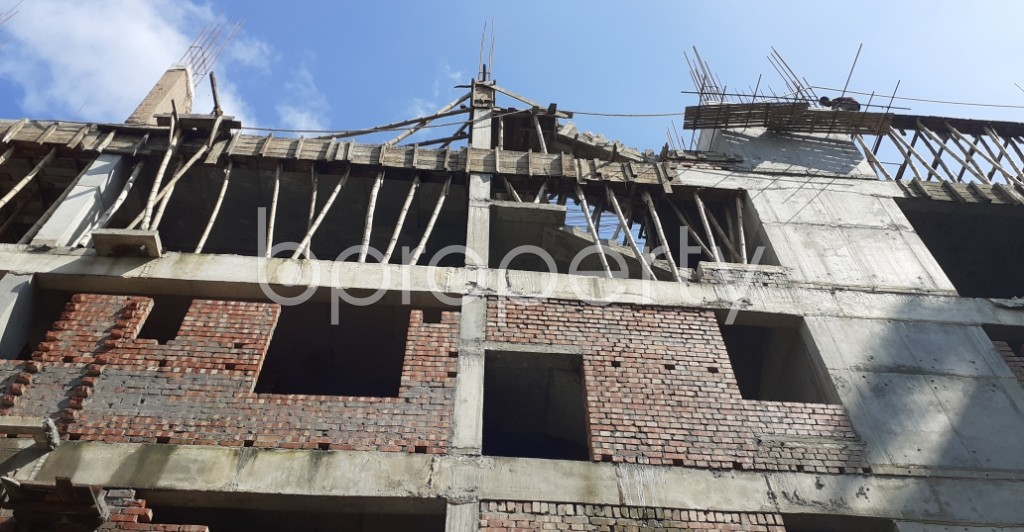 Front view - 3 Bed Apartment for Sale in Bashundhara R-A, Dhaka - 1944938