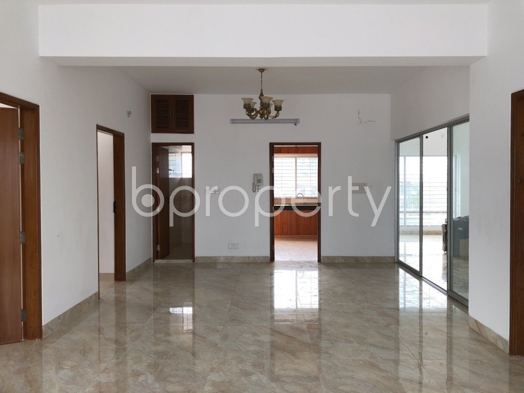 Dining area - 3 Bed Apartment to Rent in Dhanmondi, Dhaka - 1920998