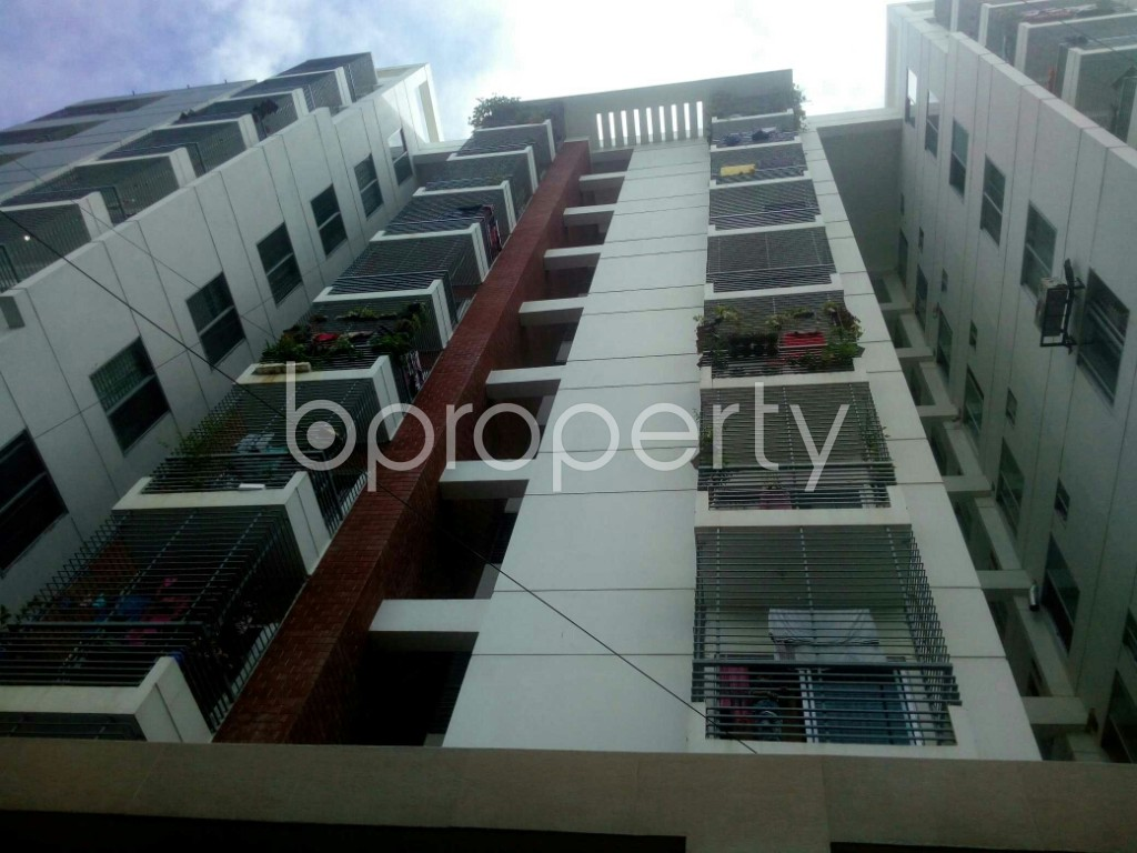 Outside view - 3 Bed Apartment for Sale in 7 No. West Sholoshohor Ward, Chattogram - 1945043