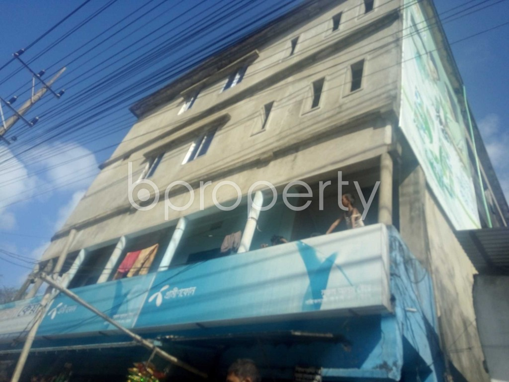 Outside view - 1 Bed Apartment to Rent in Halishahar, Chattogram - 1945230