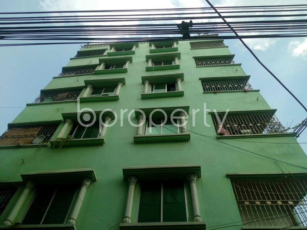 Front view - 2 Bed Apartment to Rent in Badda, Dhaka - 1945484