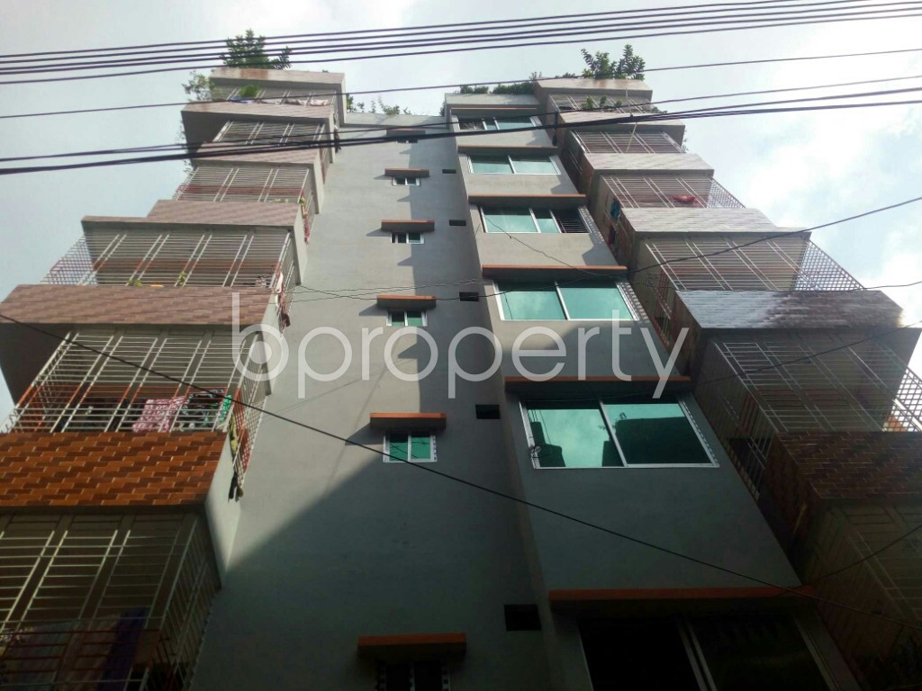 Front view - 3 Bed Apartment to Rent in Badda, Dhaka - 1945534