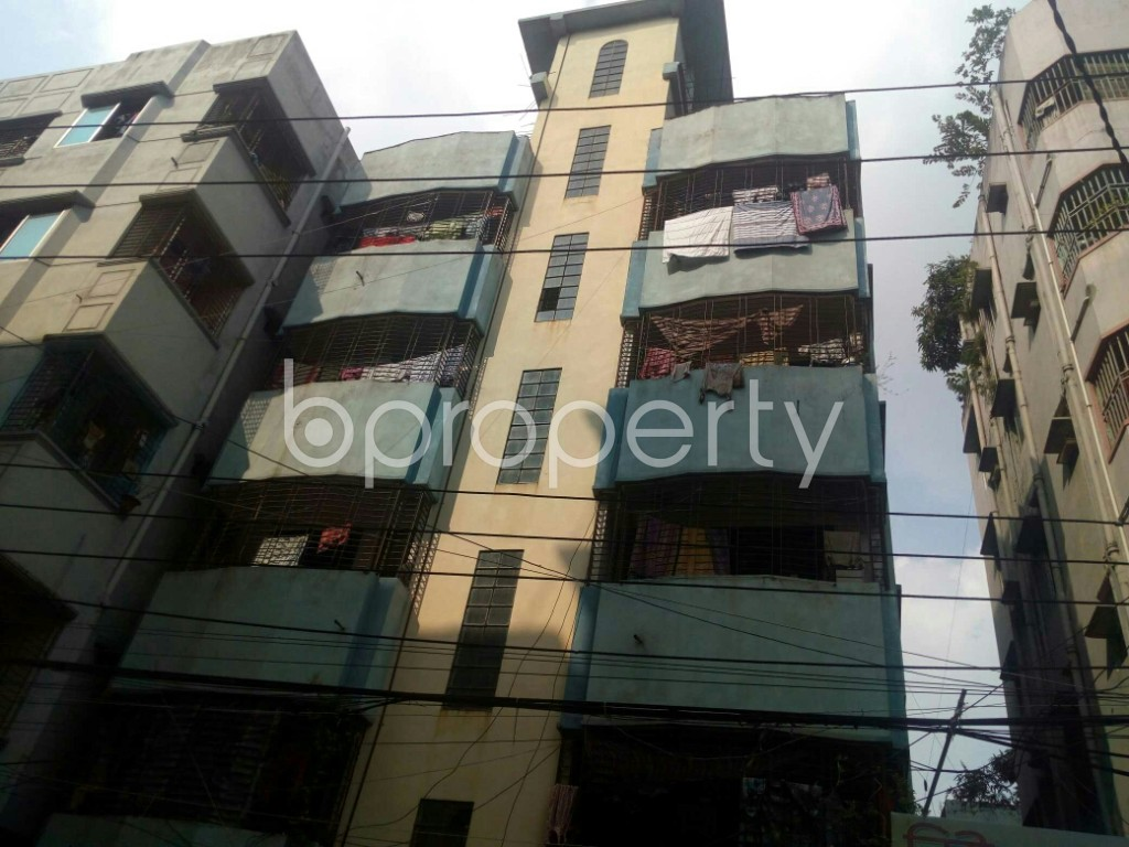 Front view - 3 Bed Apartment to Rent in Badda, Dhaka - 1945558
