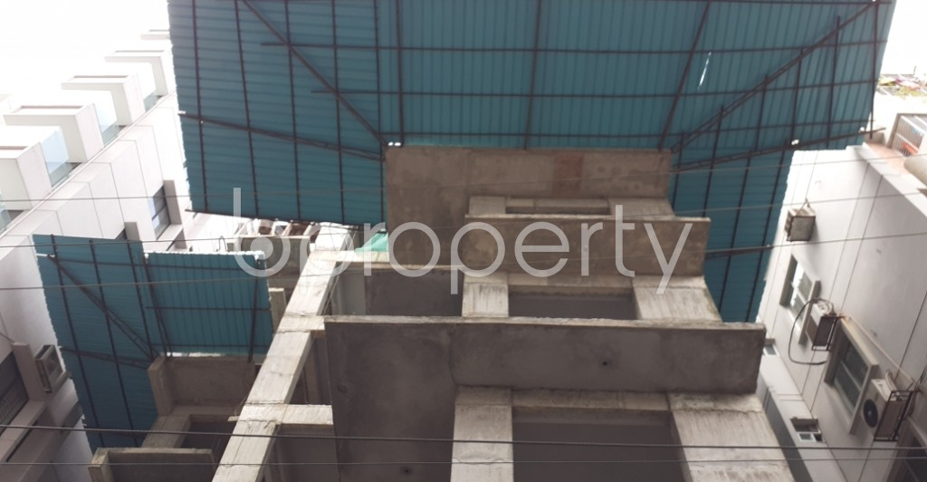 Front view - 4 Bed Apartment for Sale in Bashundhara R-A, Dhaka - 1945584