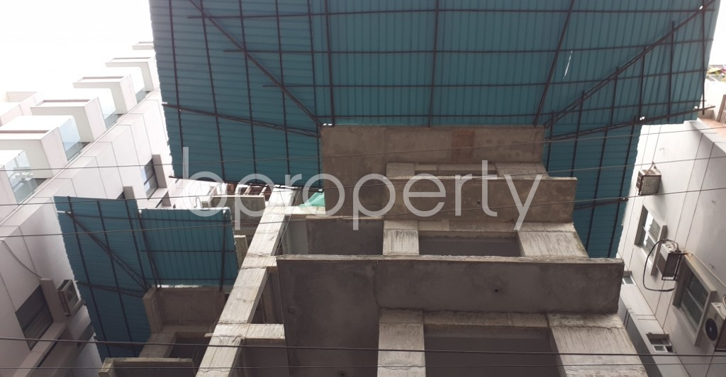 Front view - 4 Bed Apartment for Sale in Bashundhara R-A, Dhaka - 1945585