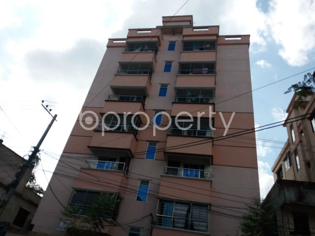 Front view - 3 Bed Apartment for Sale in Halishahar, Chattogram - 1945611