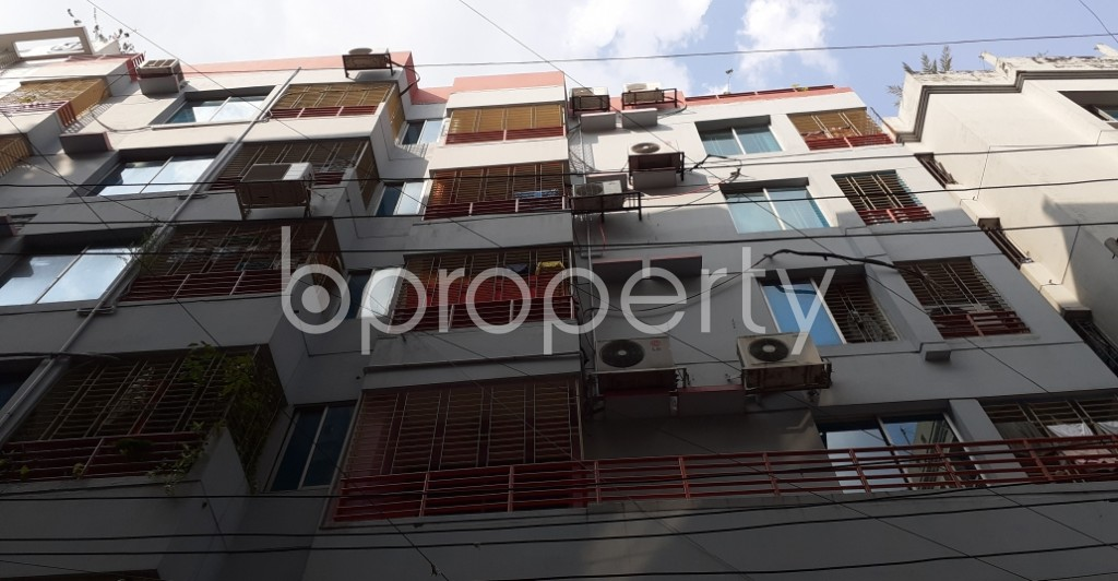 Front view - 3 Bed Apartment for Sale in Hatirpool, Dhaka - 1945660