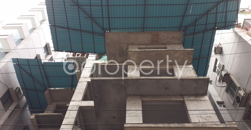Front view - 4 Bed Apartment for Sale in Bashundhara R-A, Dhaka - 1945859