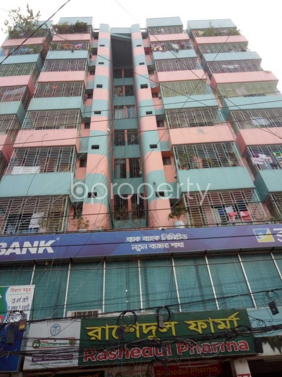 Front view - 3 Bed Apartment to Rent in Badda, Dhaka - 1945978