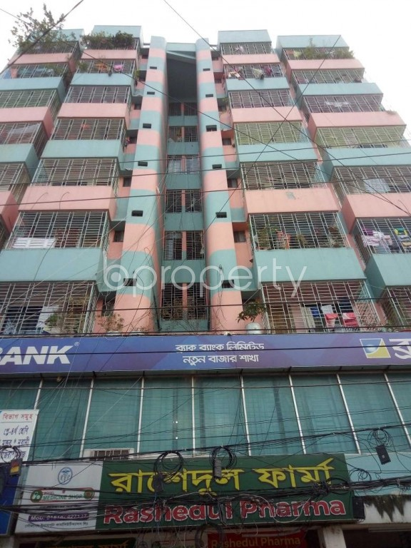 Front view - 3 Bed Apartment to Rent in Badda, Dhaka - 1945979