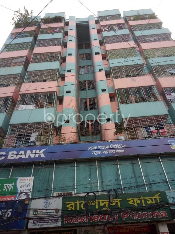 Front view - 3 Bed Apartment to Rent in Badda, Dhaka - 1945980