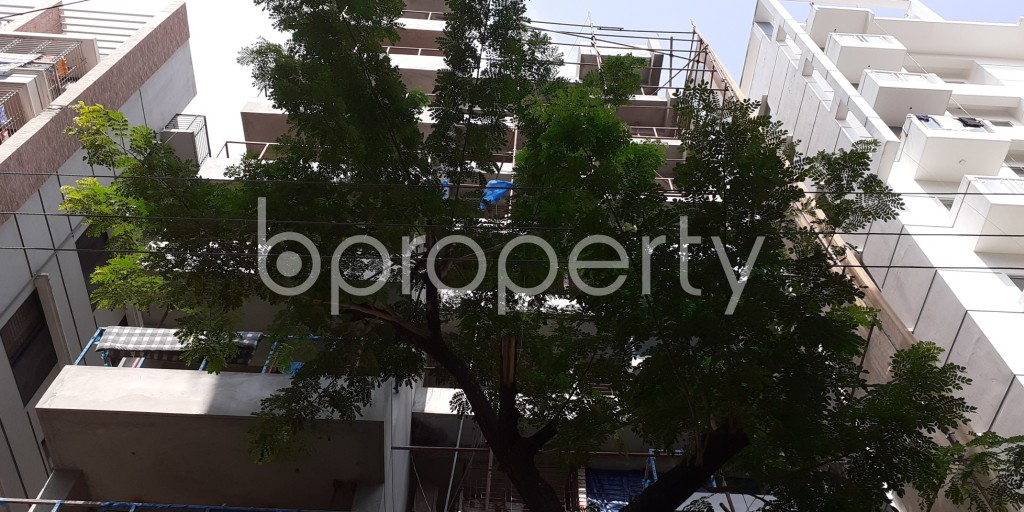 Front view - 3 Bed Apartment for Sale in Bashundhara R-A, Dhaka - 1945986