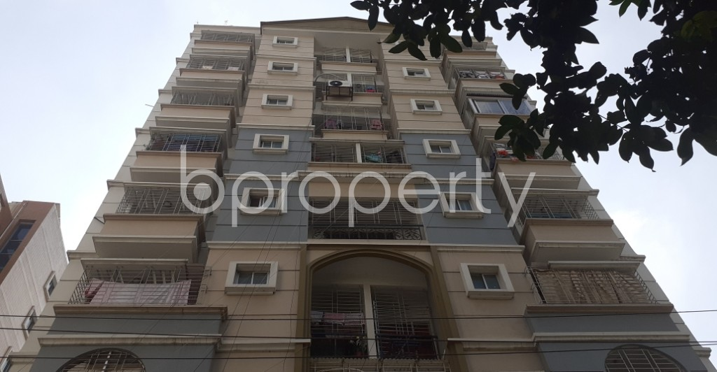 Front view - 3 Bed Apartment for Sale in Hatirpool, Dhaka - 1946112
