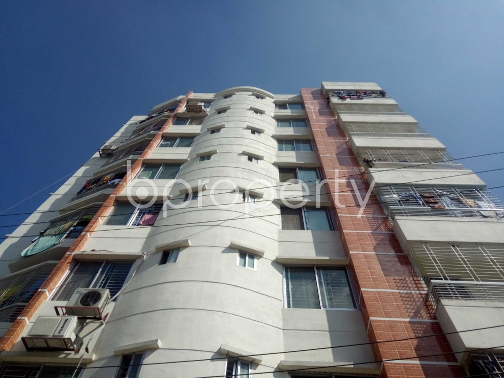 Front view - 2 Bed Apartment to Rent in Badda, Dhaka - 1946158