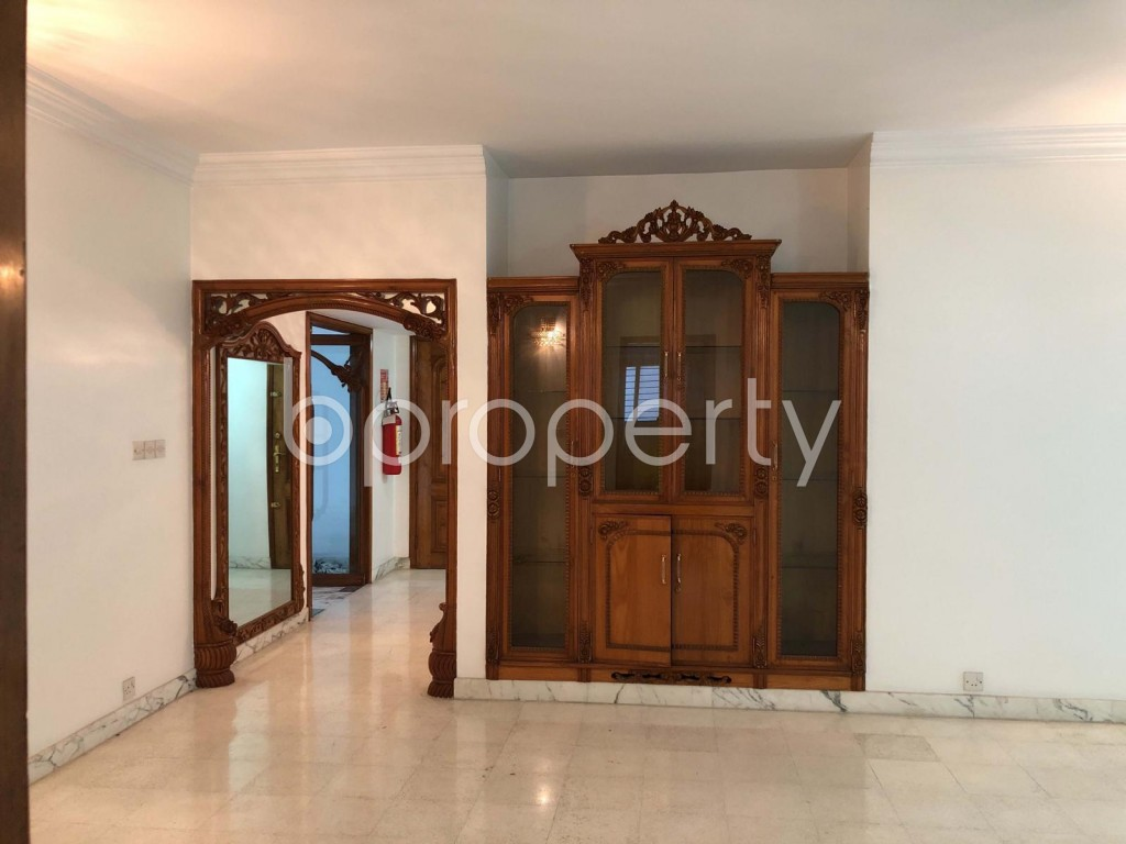 Dining area - 5 Bed Apartment to Rent in Gulshan, Dhaka - 1920475
