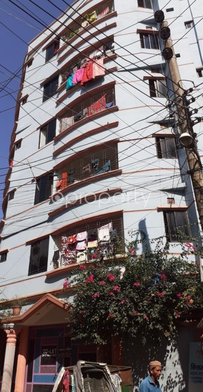 Outside view - 2 Bed Apartment to Rent in Gazipur Sadar Upazila, Gazipur - 1946229