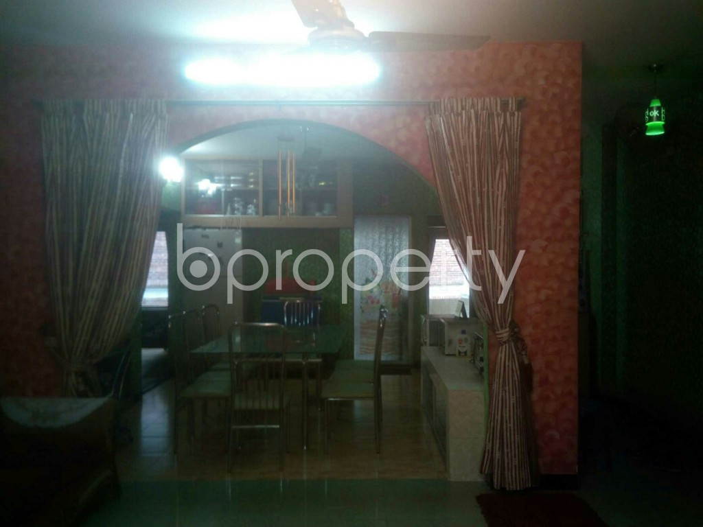 Dine/Dining - 4 Bed Apartment for Sale in 16 No. Chawk Bazaar Ward, Chattogram - 1946351