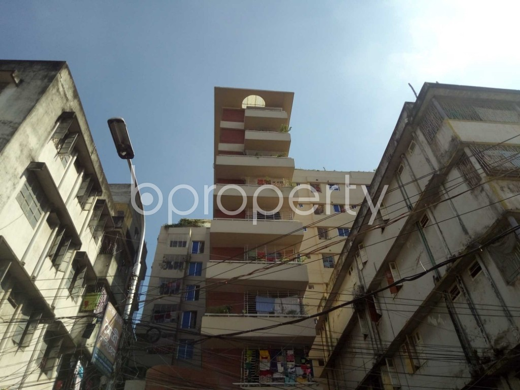 Outside view - 3 Bed Apartment for Sale in Maghbazar, Dhaka - 1946462