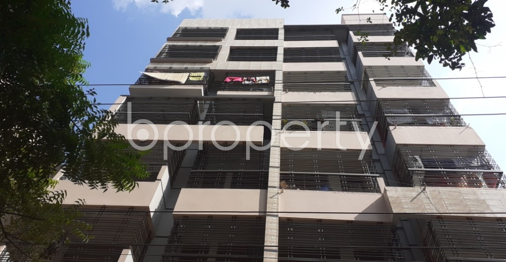 Front view - 3 Bed Apartment for Sale in Shyamoli, Dhaka - 1946469