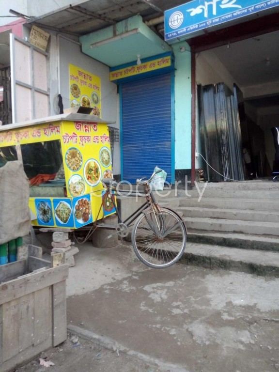 Front view - Shop to Rent in Badda, Dhaka - 1946492