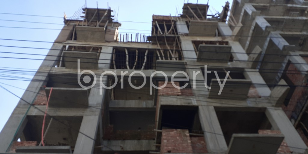 Front view - 3 Bed Apartment for Sale in Bashundhara R-A, Dhaka - 1946530