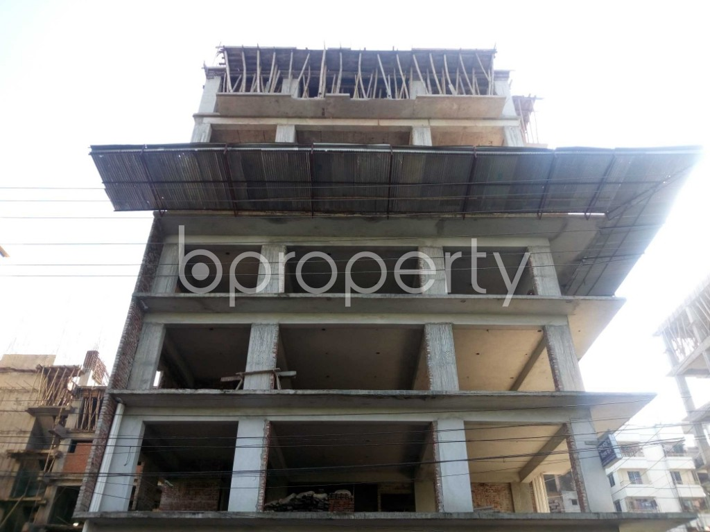 Front view - 4 Bed Apartment for Sale in Banasree, Dhaka - 1946684