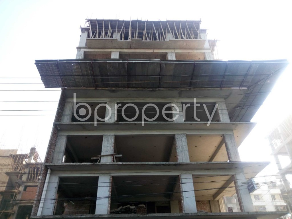 Front view - 4 Bed Apartment for Sale in Banasree, Dhaka - 1946685