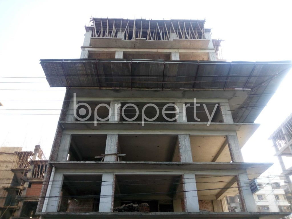 Front view - 4 Bed Apartment for Sale in Banasree, Dhaka - 1946686