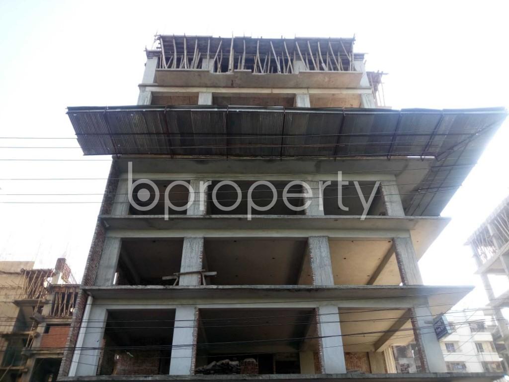 Front view - 4 Bed Apartment for Sale in Banasree, Dhaka - 1946687