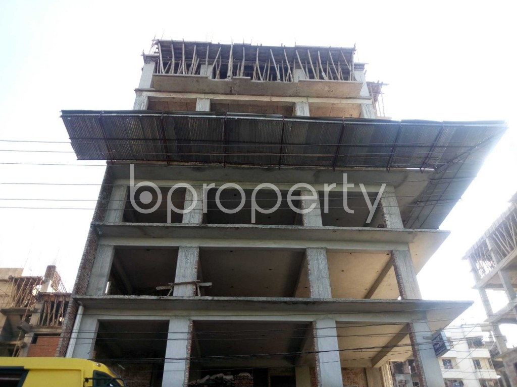 Front view - 4 Bed Apartment for Sale in Banasree, Dhaka - 1946689