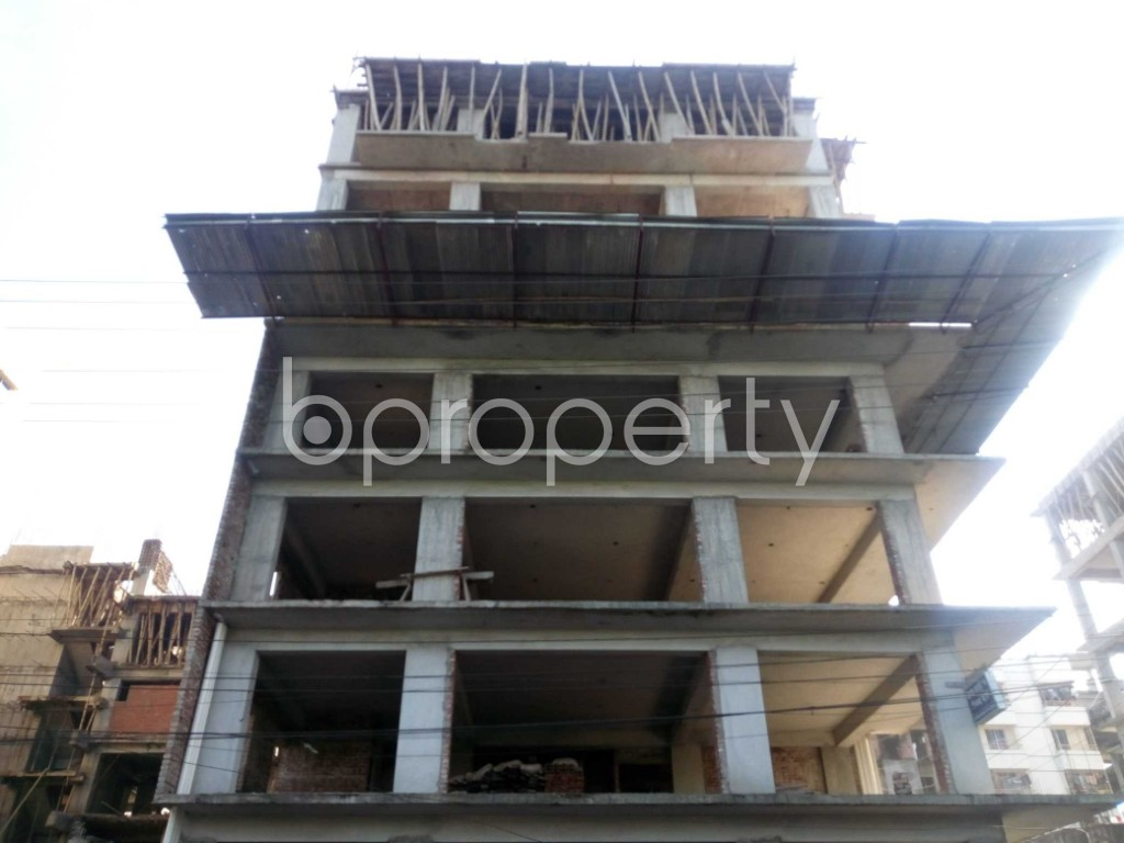 Front view - 4 Bed Apartment for Sale in Banasree, Dhaka - 1946690