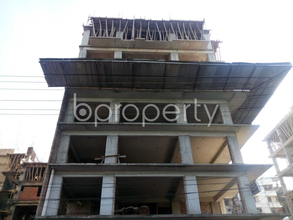 Front view - Office for Sale in Banasree, Dhaka - 1946692