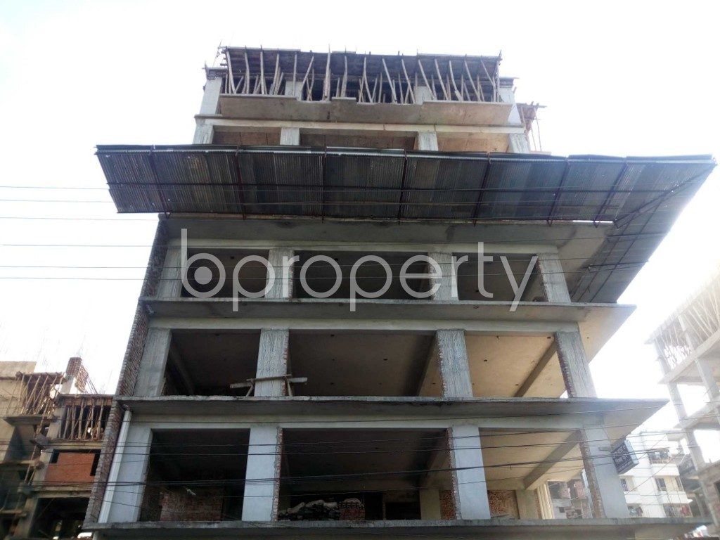 Front view - Office for Sale in Banasree, Dhaka - 1946693