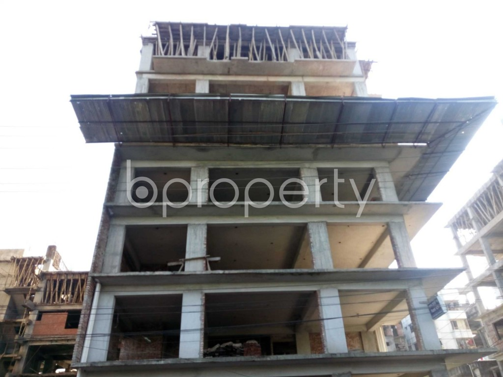 Front view - Office for Sale in Banasree, Dhaka - 1946694