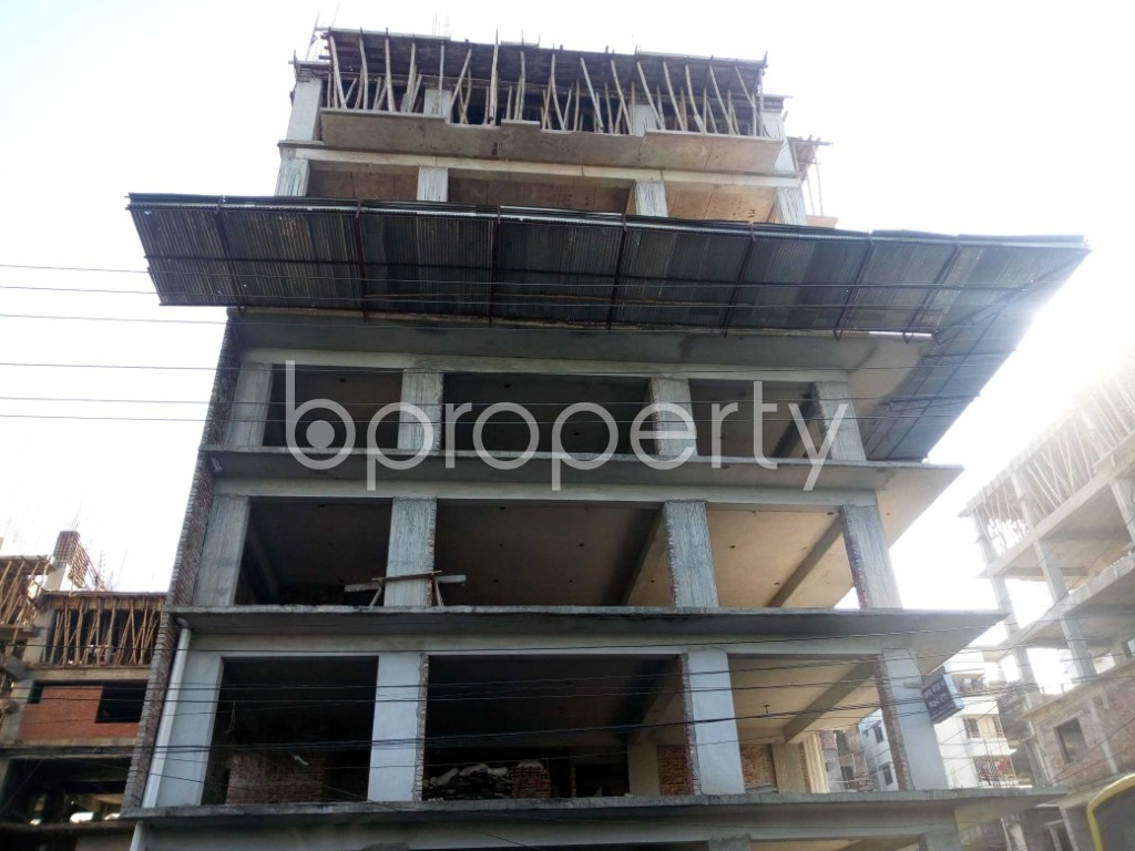 Front view - Office for Sale in Banasree, Dhaka - 1946695