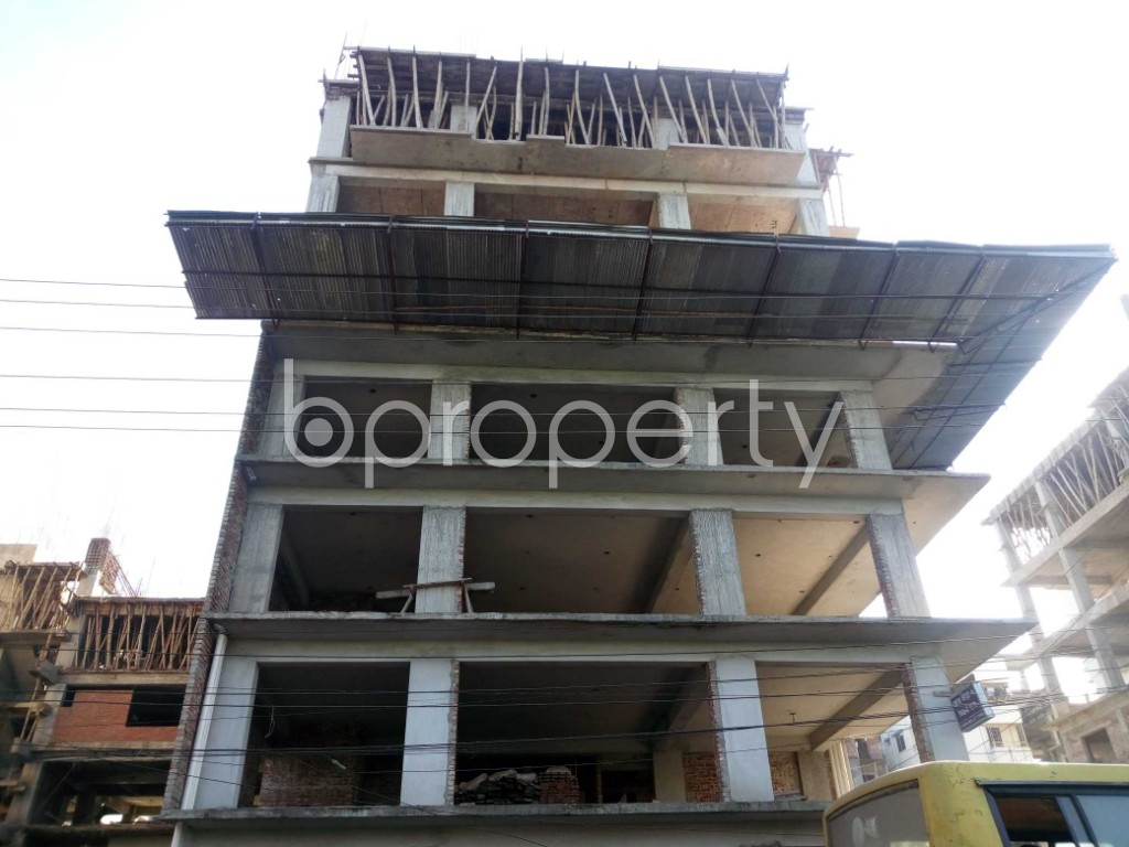 Front view - Office for Sale in Banasree, Dhaka - 1946696