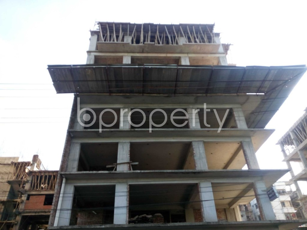 Front view - Office for Sale in Banasree, Dhaka - 1946697