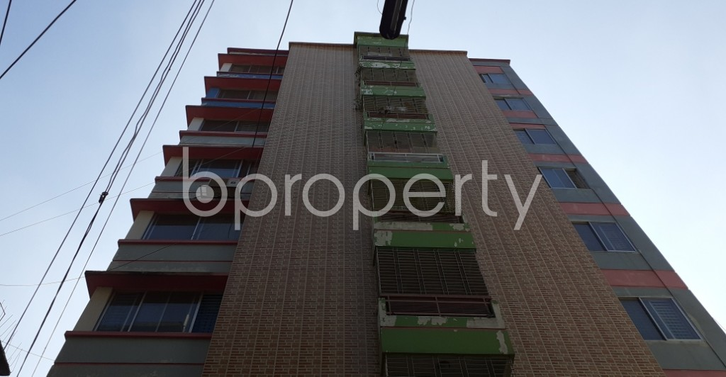 Front view - 3 Bed Apartment for Sale in Mirpur, Dhaka - 1946862