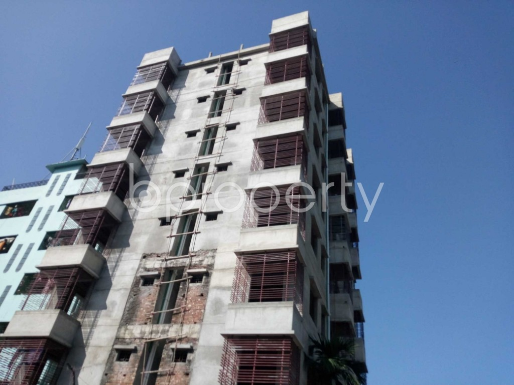 Front view - 3 Bed Apartment for Sale in Halishahar, Chattogram - 1946986