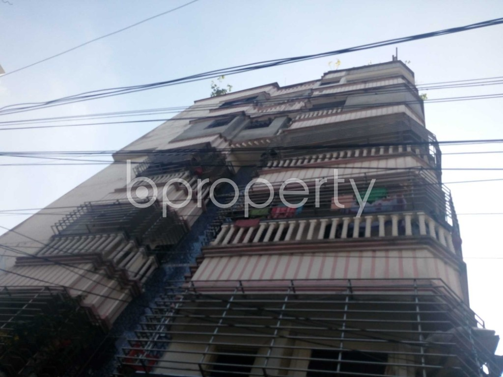 Front view - 2 Bed Apartment to Rent in Kalachandpur , Dhaka - 1947383