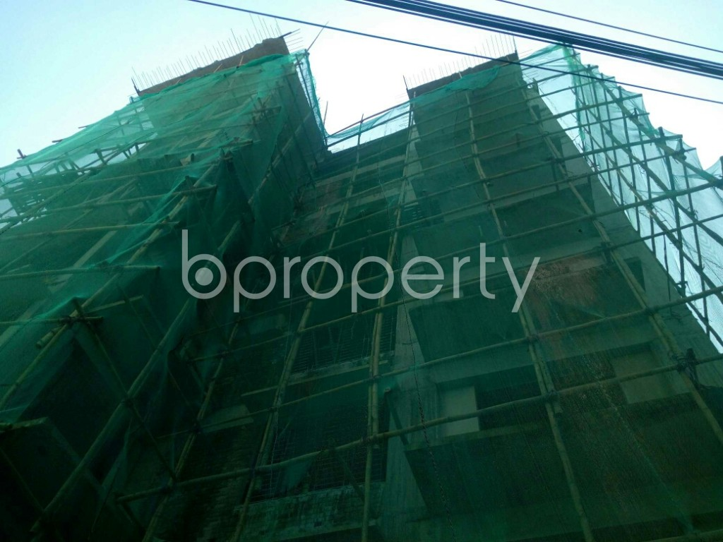 Front view - 4 Bed Apartment for Sale in Khulshi, Chattogram - 1947592