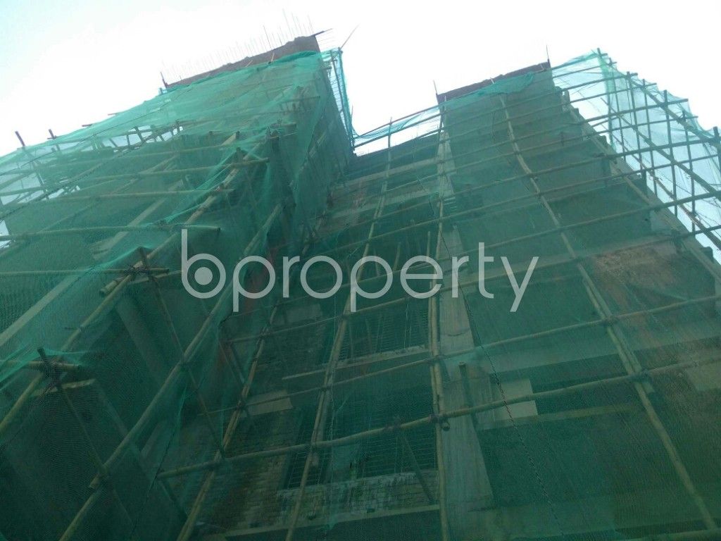 Front view - 3 Bed Apartment for Sale in Khulshi, Chattogram - 1947593